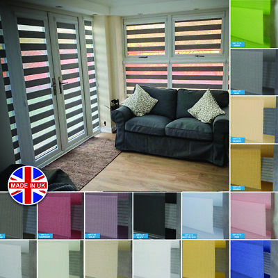 Premium Made to Measure Day and Night Perfectly Fitted Vision/Zebra Window Blind