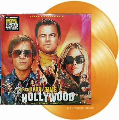 Soundtrack - Once Upon A Time In Hollywood 2LP Orange Vinyl NEW!