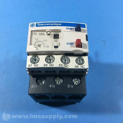 Telemecanique LRD066 Thermal Overload Relay, 1 - 1.6 A FNIP