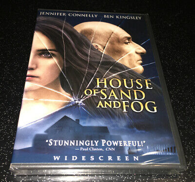 House Of Sand And Fog DVD Region 1 Widescreen NEW SEALED Jennifer Connelly
