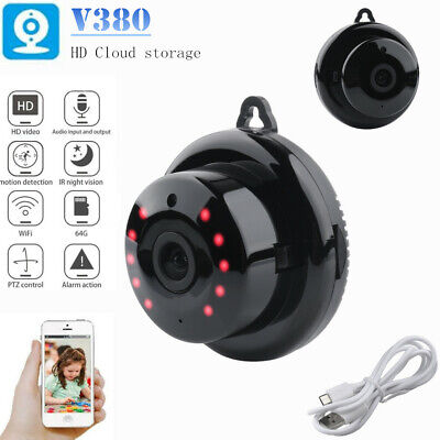 Mini Spy Camera Wireless Wifi IP Security Camcorder HD 720P Night Vision DVR NEW