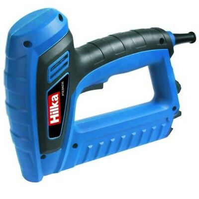 Hilka PTESN230 Electric Stapler Nailer 240 Volt Complet With Staples and Nails