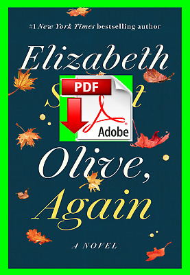"""Olive, Again (Olive Kitteridge #2) by Elizabeth Strout 🔥🔥 (""""P-.D-.F"""") ✅"""