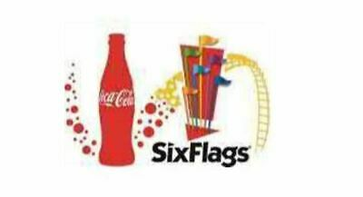 1 Six Flags General Admission E-Ticket Holiday in the Park - Any US Six Flags