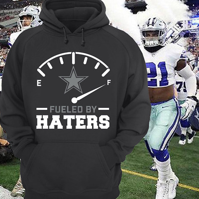 Dallas Cowboys Fueled By Haters Navy And Black Hoodie Dak Zeke Size S-5XL