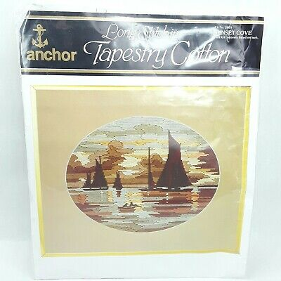 Anchor Tapestry Long Stitch Kit Sunset Cove Unused