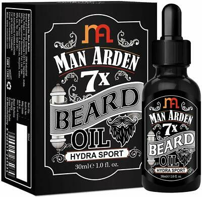Man Arden 7X Beard Oil  With 7 Premium Oils For Beard Growth (Hydra Sport)-30 ML