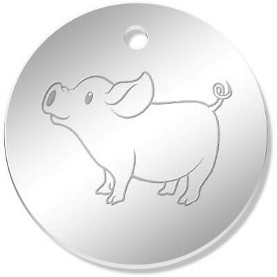 'Cute Piglet' Pendants / Charms (PN013622)