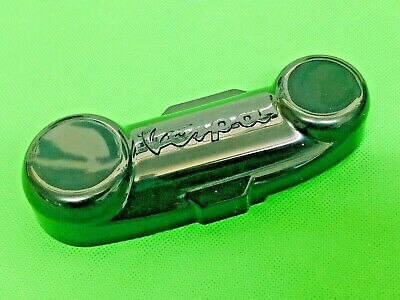 Vespa Black Front Fork Link Cover With Vespa Logo Fits Px Models