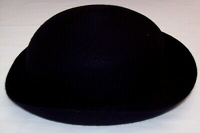 Ladies / Girls Navy Bowler Style Felt Hat Extra Large - School Uniform