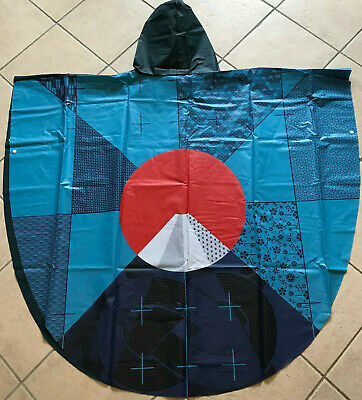 Japan Rugby World Cup 2019 Poncho in Blue - Official Hospitality Premium Seat