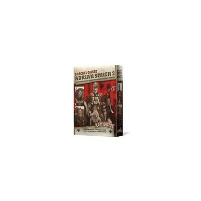 Zombicide:Noir Plague - Special Guest: Adrian Smith 2 - Neuf + Emballage (VF)