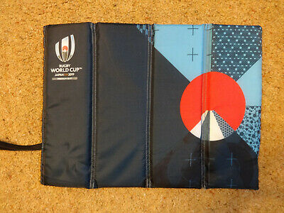 Rugby World Cup Japan 2019 Folding Seat Cushion + Own Bag Official Hospitality