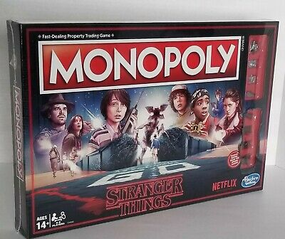 Stranger Things Monopoly Board Game Hasbro Limited Edition