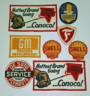 VINTAGE Embroidered Automotive Gasoline Patch UNUSED - #47 ASSORTED PATCHES