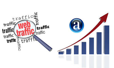 UNLIMITED real visitors to your website for 12 months.Increase your traffic flow