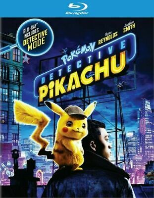 Pokemon Detective Pikachu Blu-Ray ONLY - Brand New Factory Sealed -FREE SHIPPING