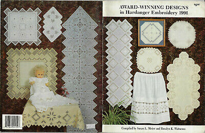 Award-Winning Designs in Hardanger Embroidery 1991 - Meier & Watnemo softcover
