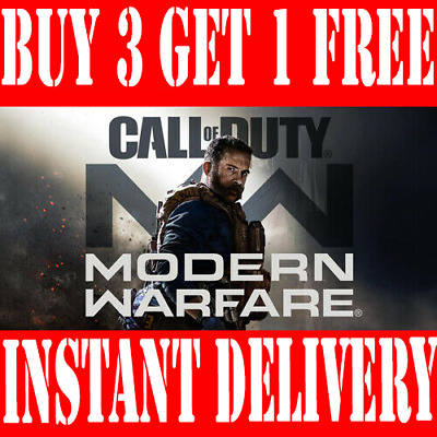Call of Duty Modern Warfare Double XP 1 Hour Code Instant Dispatch