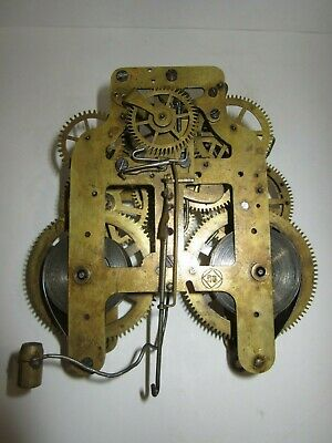 Antique Seth Thomas Mantel Clock Movement 8-Day, Time/Strike, Key-wind