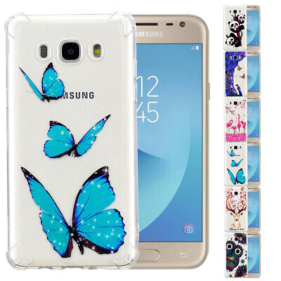 For Samsung Galaxy J2 J3 J5 J7 Pro J6 J4 Cute Rubber Shockproof Clear Case Cover