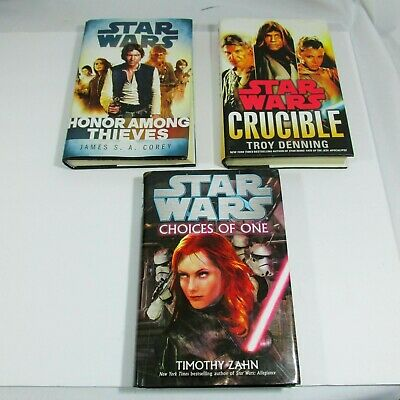 Star Wars Hard Cover Books Lot First Edition