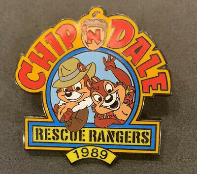 Disney Store 100 Years of Dreams #66 Chip 'n & Dale Rescue Rangers 1989  Pin