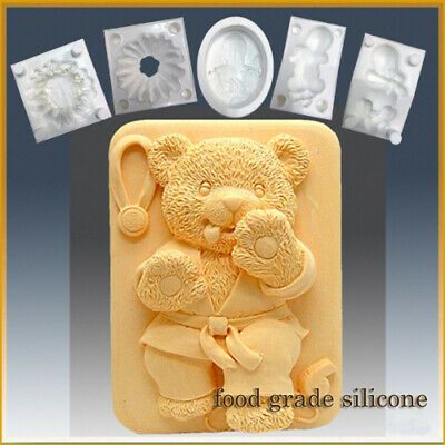 Tae Kwon Do Bear- Detail of High Relief Sculpture - Silicone