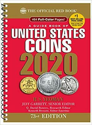 A Guide Book of United States Coins 2020 by Jeff Garrett Spiral-bound  Textbooks