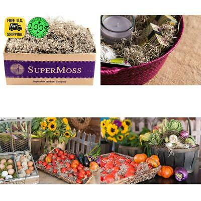 SuperMoss 26926 Spanish Moss Dried Natural 3lbs