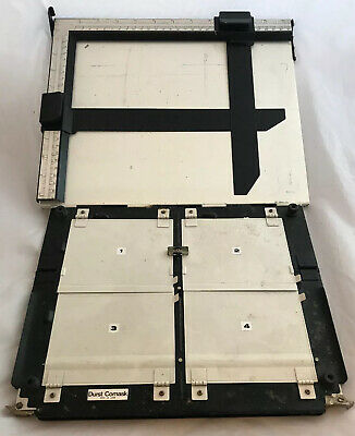 Vintage Durst Comask & 10x12 Inch Photographic Print Cutting Easel, Developing