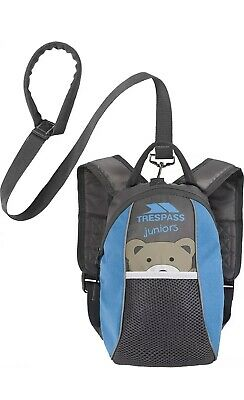 Trespass Walking Harness with Reins Mini Me Toddler Outdoor Baby Backpack - New