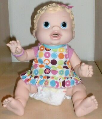 Changing Time Baby Alive Interactive Doll - Kicks & Wiggles her legs