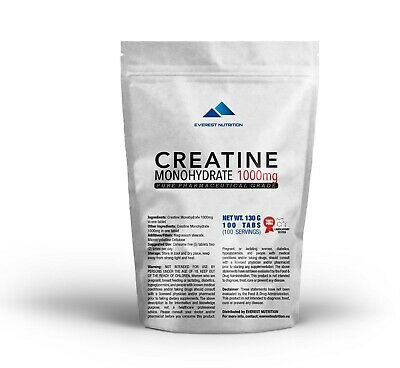 CREATINE MONOHYDRATE 1000 mg COMPRIME QUALITE PHARMACEUTIQUE
