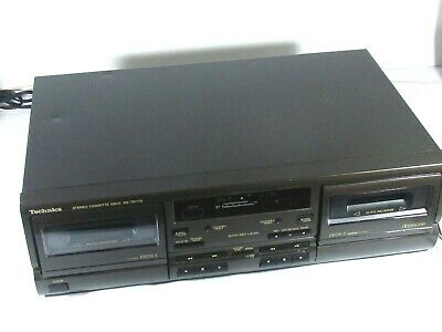 TECHNICS STEREO CASSETTE DECK RS-TR170 Tested
