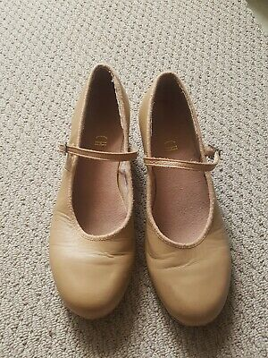 BLOCH LEATHER sz 7 Tap Dance SHOES TECHNO TAP #2T