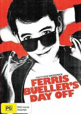 Ferris Bueller's Day Off (DVD) Matthew Broderick - Region 4 - New not Sealed