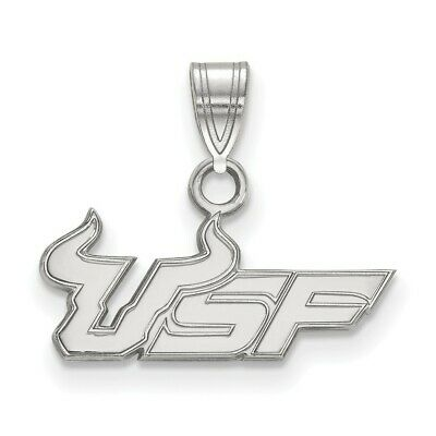 Lex /& Lu LogoArt Sterling Silver w//GP University of Central Florida Small Dangle Bead