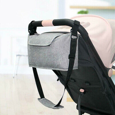 Baby Pram Stroller Mummy Bag Organiser Cup Bottle Holder Storage Buggy Pushchair