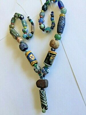Neastern and roman beads necklace