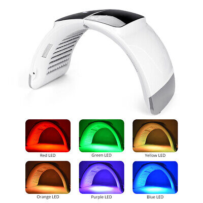 7 Colors Phototherapy LED Light Therapy Photon Lamp Calcium Supplement Skin Care