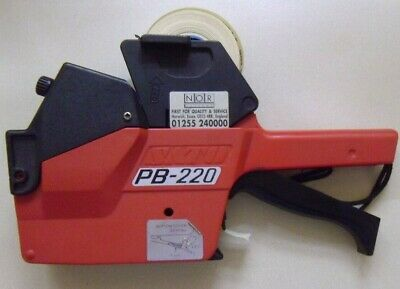 Sato Pb-220 Pricing Gun Two Line Reduced To Clear
