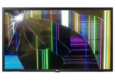 """LG  32LM6300PLA 32"""" 1080p Full HD LED Smart TV with * Smashed screen *"""