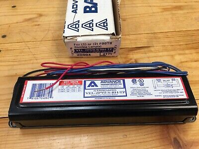 Advance VEL-1P32-SC Instant-Start 277-Volt Ballast