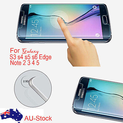 Samsung Galaxy s5 S3 s4 s6 note 2 3 4 5 premium Tempered Glass Screen Protector