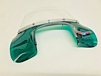 Lambretta Gp / Dl Transparent Green Mod Style Green Flyscreen