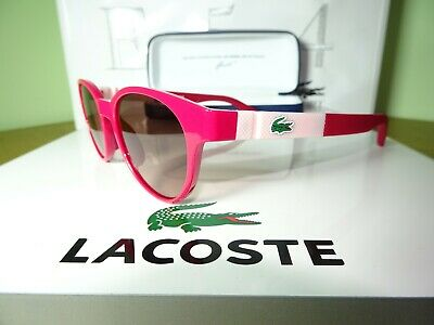 LACOSTE GIRLS SUNGLASSES WITH CASE L3626S 525 49mm 100% UV rrp:-£65