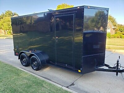 Enclosed Hot Water Pressure Wash Trailer - 8 Gpm - New - Free Shipping