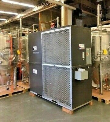 2014 Aqua Products 20 ton Brewery Glycol Air Cooled Chiller 300 gallon tank 460v