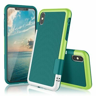 Ultra Slim 3 Color Hybrid Anti-slip Shockproof Phone Case for iphone X XS MAX